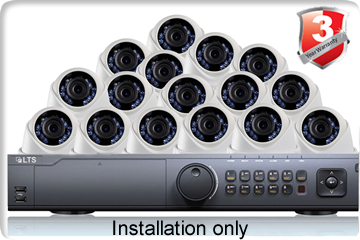 16 Camera Installation Package