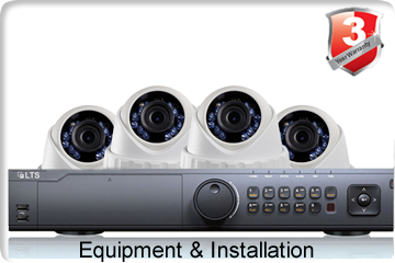 4 Camera Installation With Equipment