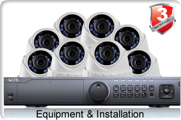 8 Camera Installation With Equipment