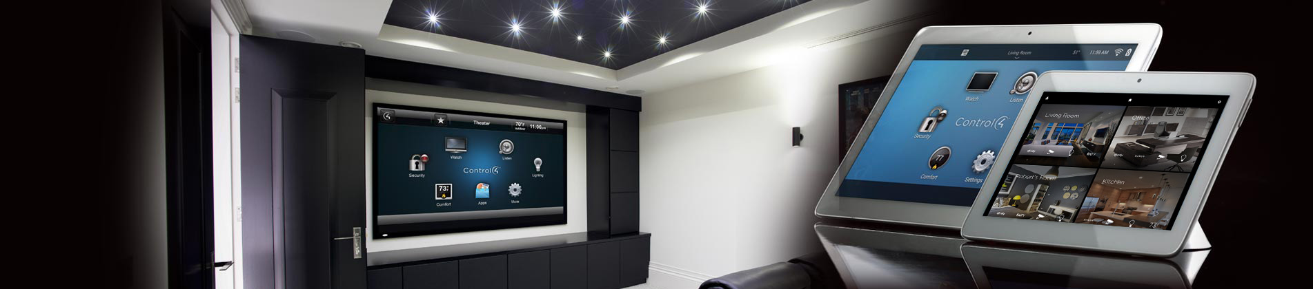 Home Automation Home Theater And Surveillance Camera System